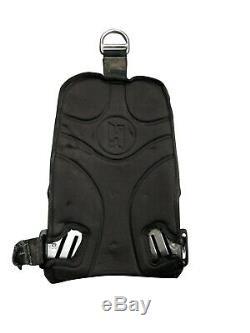 Halcyon Stainless Steel Backplate & Back Pad Scuba Diving NO STRAPS BCD Plate
