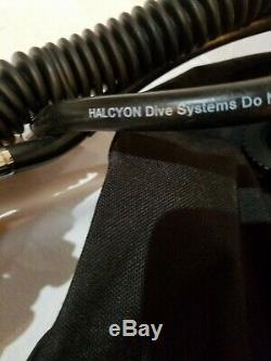 Halcyon eclipse 30 Buoyancy Compensator Scuba diving dive gear