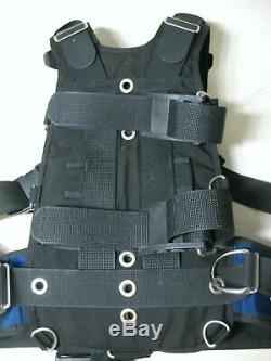 Hollis Hts Harness Technical System Bc Harness For Technical Scuba Size XL Great