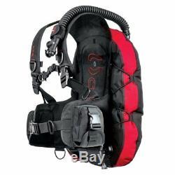 Hollis L. T. S. Light Travel System BCD Scuba Dive Gear Buoyancy Control Device