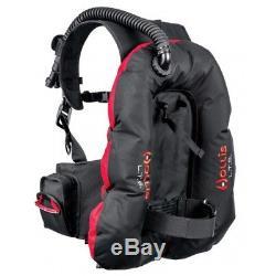 Hollis L. T. S. Light Travel System Scuba Diving BC/BCD Buoyancy Compensator