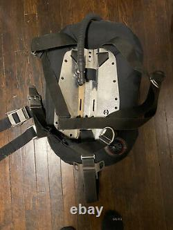 Hollis S38 Backplate Wing BCD Set Up