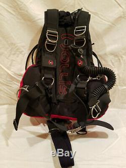 Hollis SMS 75 Sidemount harness system, XXL