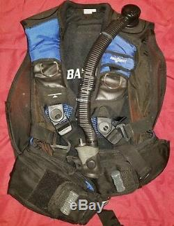 Large Aqualung BALANCE Airsource BC BCD SCUBA Dive WING