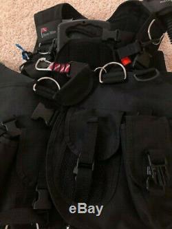 Large Dive Rite Rec Pac BCD travel diving vest DiveRite compensator SCUBA