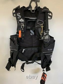 Large Scubapro Glide Plus BCD incl Air2 & Accessrs Used on 50 Openwater Dives