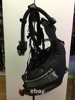 MARES HYBRID BCD with MRS Plus Weight Pockets Size M/L SCUBA As Pictured