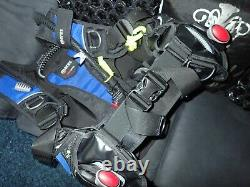 MARES PRESTIGE scuba diving dive bc bcd WITH sls weight pockets