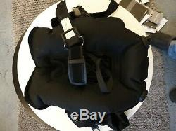 MARES PURE SLS Back Floatation WING Buoyancy Jacket BCD BC Weight Integrated