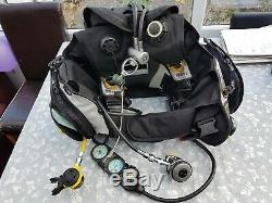 Mares HUB bcd with integrated regs Size L