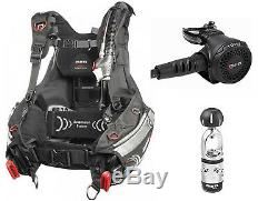 Mares Hybrid MRS Weight Integrated BCD XL + Mares Rover Scuba Diving Regulator