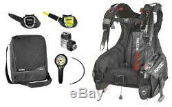 Mares Instinct 15x Smart Tauchset Atemreglerset mit Jacket Gr. XXS-XL