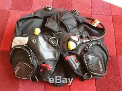Mares Morphos Pro BCD with Integrated Weight System medium size. Scuba diving