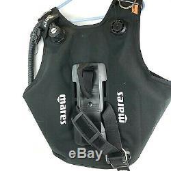 Mares Vector 1000 Size XL Scuba BCD Vest Black