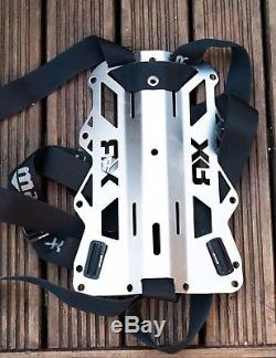 Mares XR Wing, Backplate & Harness