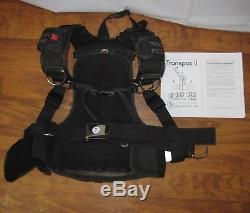 NEW Dive Rite Trans Pac II 2 Harness w manual M/L Medium Large Scuba BC Transpac