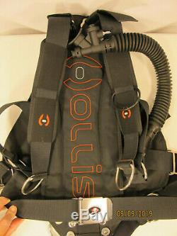NEW IN WRAP HOLLIS SMS 50 Sidemount BCD, One Size Fits All, never touched water
