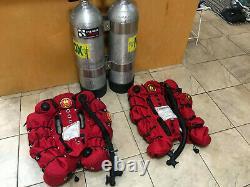 OMS 60 lb Lift Dual Bladder Scuba Diving Tech BCD Buoyancy Compensator