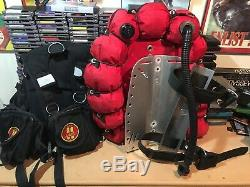 OMS BCD Harness, Bladder And Backplate Combo Size M-ML
