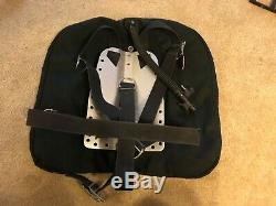 OMS Backplate & Harness & OMS 45lb Larry Green Signature Wing