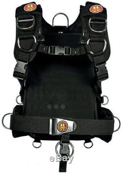 OMS Modular IQ Harness Pack System for Scuba Diving Backpack ONLY M/L MD/LG