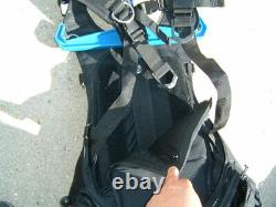 OMS Modular IQ Harness Pack System w stainless back plate Backpack M/XL