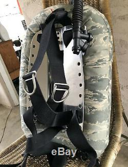 OMS Scuba Dive Harness System, BCD, Backplate, 28 Pound Wing, BC, Crotch Strap
