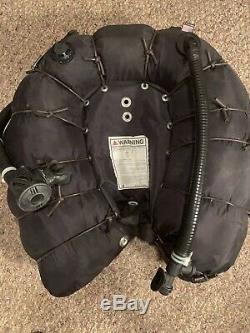 OMS Tec Wing 94# Double Bladder, Bungie Wrap Air 2 Inflator Scuba BCD