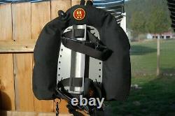 OMS bcd with back plate, size med, as new