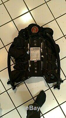 OMS technical bc 94 lb Lift Dual Bladder Scuba with dive Right harness