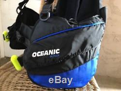 Oceanic BIOFLEX BCD, Size Large, Weight Integrated Scuba Dive BC, Bio Flex