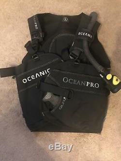 Oceanic OceanPro QLR3 BCD Large with Atomic Aquatics SS1 BCD Inflator