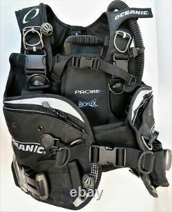 Oceanic Scuba Diver Package OceanPro BC Depth/PSI Gauge Alpha 8 Regulator & Octo