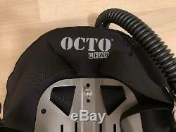 Octo Gear scuba diving BCD backplate, wing, harness with STA