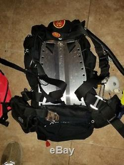 Oms Complete Technical Dive Bcd, Wreck Reel Lift Bag, X Lg Sausage, Strobe, Octo