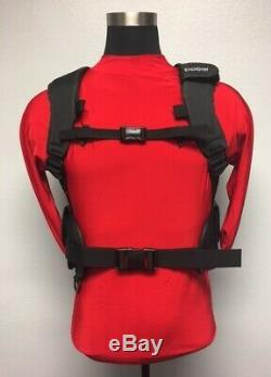Pony Tank Harness adjustable pockets for optional soft weights cushioned