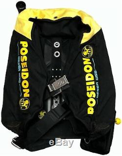 Poseidon One Harness with One Wing Bc/BCD System Size Standard/M Scuba Diving Gear