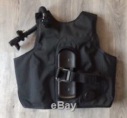 Predator Sea Quest Aqualung Embroidered Bcd Buoyancy Mens Large Scuba Vest