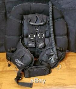 Riptide Zone Wing / Harness BC BCD Buoyancy Compensator Scuba Dive XL XXL NICE