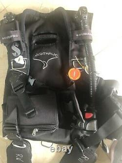 SCUBAPRO KnightHawk Weight Integrated BCD with Air2 Inflator Size Medium M