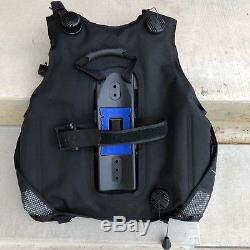 SCUBA BCD SEAQUEST PRO QD SIZE Large With Weight Pockets