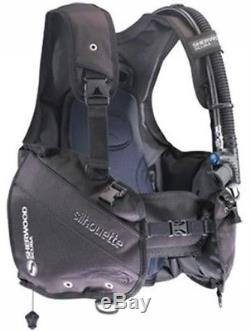 SHERWOOD SILHOUETTE BC Dive BCD SCUBA Diving X-Large CLOSEOUT XL