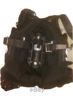 ScubaPro BCD Hydros Pro Men Large. Includes travel bag