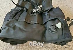 ScubaPro Classic Plus BCD with octopus (lightly used size large)