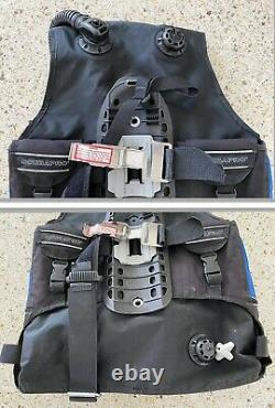 ScubaPro Glide Plus BCD With Air2 & Buckle Weight SystemSize LargeAkona Mesh Bag