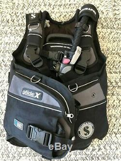 ScubaPro Glide X BCD Size Small with Air2 in Gray