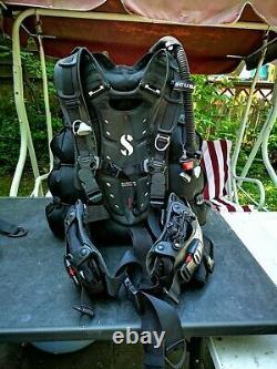 ScubaPro Hydros Pro Herren schwarz Gr L plus Zubehör Jacket BCD Wing