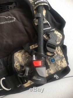 ScubaPro Knighthawk BCD Sz Large Digital Camo with Air2