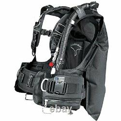 ScubaPro Knighthawk BCD with Balanced Inflator (Black, 2X-Large)