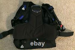 ScubaPro LiteHawk BCD Vest XS-SM withAir 2 Inflator/Regulator